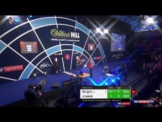 Peter Wright vs Jamie Lewis (PDC World Darts Championship 2018 / Round 2)