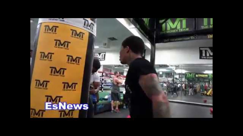 ((EPIC)) Gervonta Davis Must See Workout Speed And Power Unreal EsNews Boxing