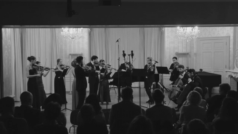 Нуры Халлмамедов-Хайрана галар (Die Bezauberung) performed by students of the HSLU
