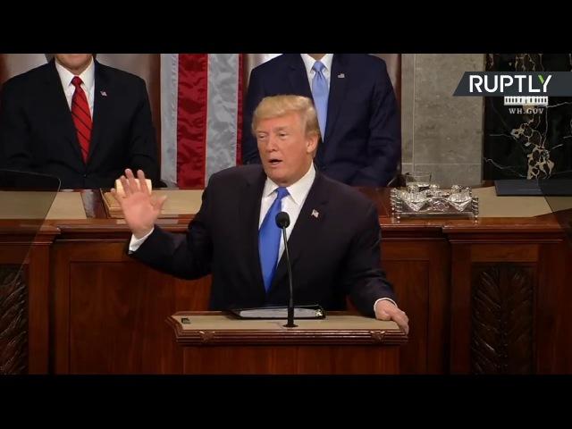 Donald Trumps Rede zur Lage der Nation, komplett auf Deutsch