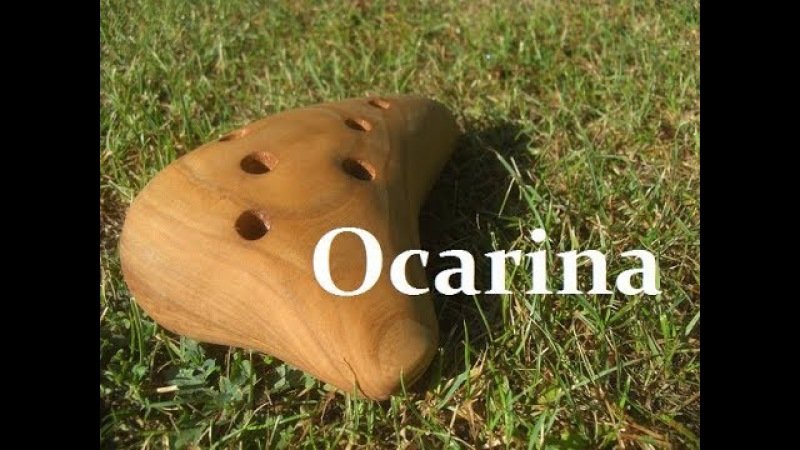 How to make wooden ocarina, with hand tools
