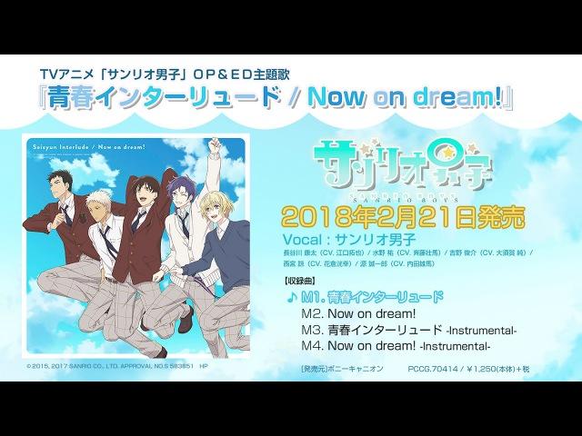 TVアニメ「サンリオ男子」OP・ED主題歌「青春インターリュード Now on dream 」試 32884