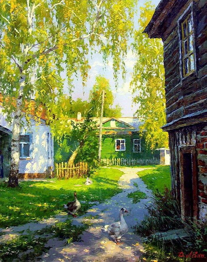 Картины Дмитрия Левина светятся изнутри