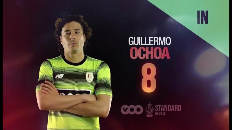 👥 Line Up Standard de Liège Ochoa Agbo Marin Fai Edmilson Carlinhos Luyindama Cavanda Laifis Mpoku Sá
