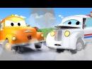 Эвакуатор Том и Почтальон Питер в Автомобильный Город Мультфильм для детей