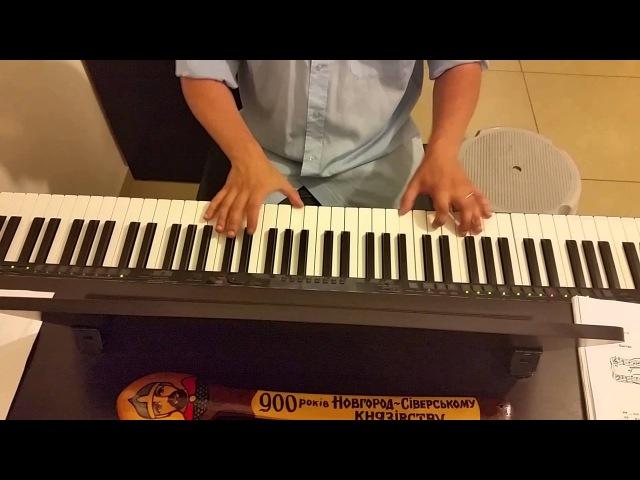 Толкунова Кабы не было зимы (из мультика Зима в Простоквашино) - пианино кавер