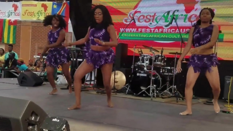 African dance by Trybe Dancers