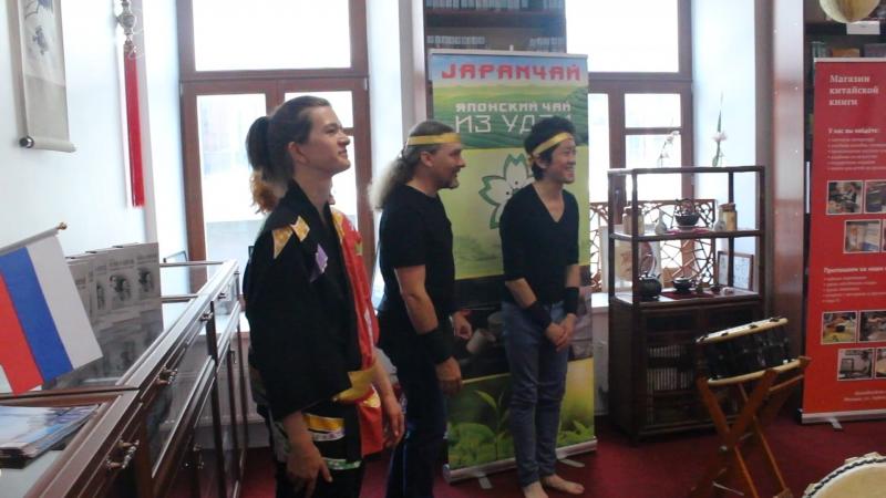 Ансамбль японских барабанов Мияби Открытие чемпионата Москвы по Риичи маджонгу 2018