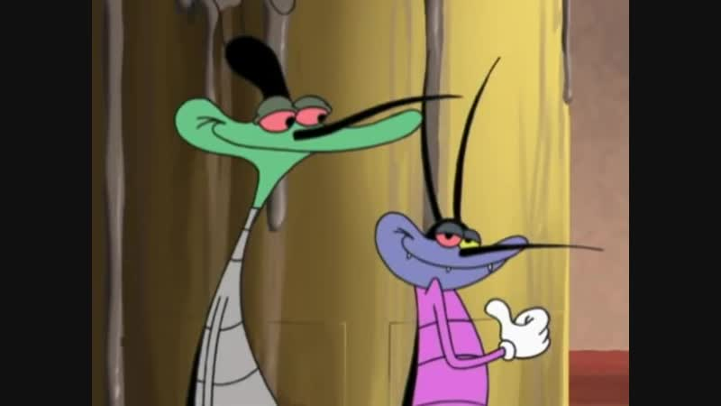 Огги и тараканы Пятница 13 е S1E13 Oggy and the Cockroaches Wrong Side of the Bed