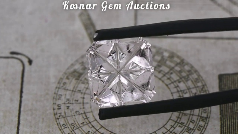 Custom Fantasy Cut Brazilian Morganite Gemstone from KGC