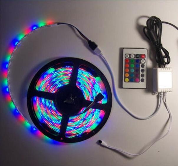 картинка светодиодные ленты и контроллера прочла
