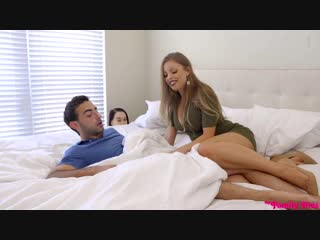 Bambi Black and Britney Amber - Picture Perfect Family [ New Porn, Sex, Blowjob, 2019, HD ]