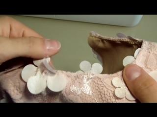 Шьем нарядное платье для девочки. часть 2-sew elegant dress for girl. part 2