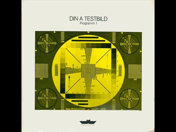 Din A Testbild Programm 1 Full Album = 1980