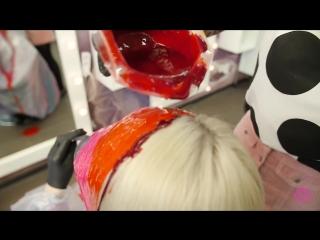 Kato_katosha капельное окрашивание волос | drip hair color