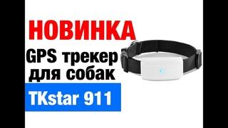 Ошейник GPS - трекер TK STAR 911 (навигатор) для собак кошек животных