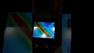 Тепловизор testo 875-1i, поиск трубы в полу.