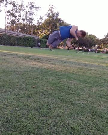 """Tyler Smith on Instagram: """"Standing full, full, full, full, dub 💪. This takes too much stamina for me 😂 standingfull fulltwist california cali..."""