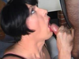 Mature dark haired crossdresser sucks cock gay boy sissy anal pleasure twink https://vk.com/toptrannys