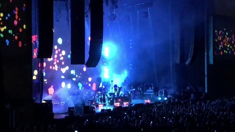 Depeche Mode Global Spirit Tour Mattress Firm Amphitheatre w/Setlist