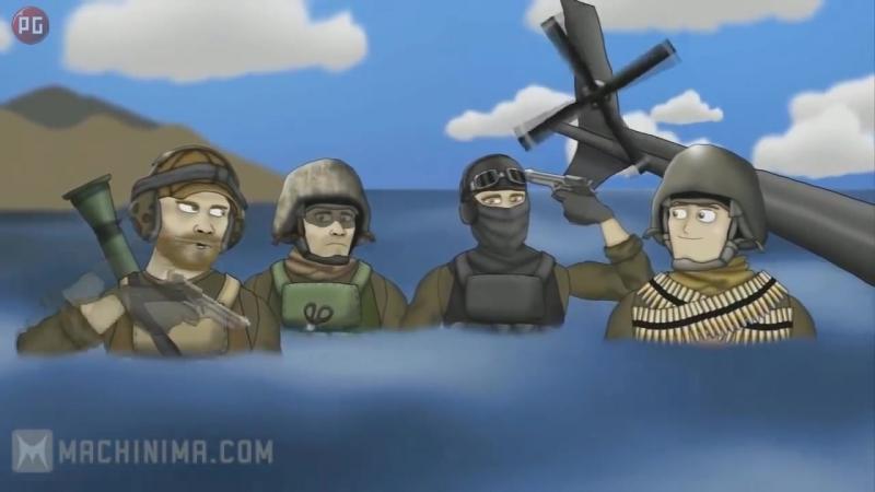 Друзья по Battlefield Я совершу самоубийство