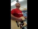 Денис Майданов поёт в электричке