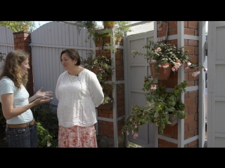 Лола Каримова на Дне открытых дверей в саду Галины Готвянской