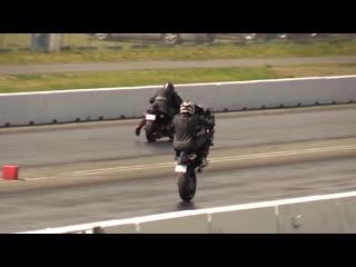 Kawasaki ninja vs suzuki hayabusa (драг)