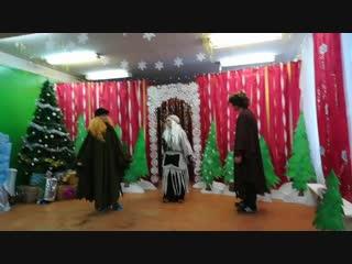 """Сказочное представление """"Новогоднее приключение Фунтика"""""""