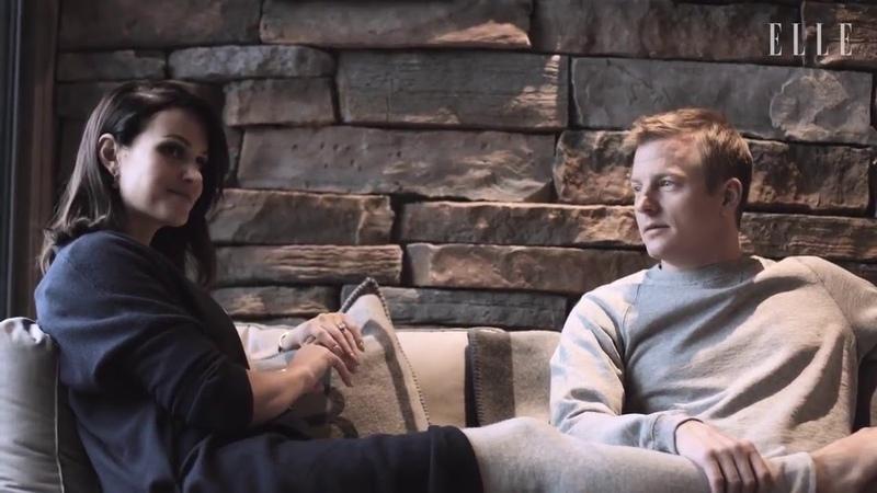 Kimi Räikkönen at home with Robin and Minttu