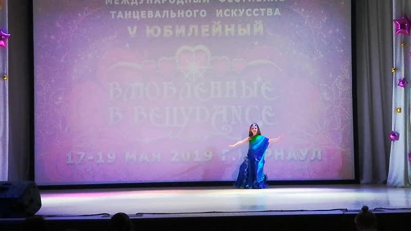 Саблина Татьяна 7 место из 22 Молодец ❤Влюбленные в Bellydance 17 19мая 2019 г Барнаул❤