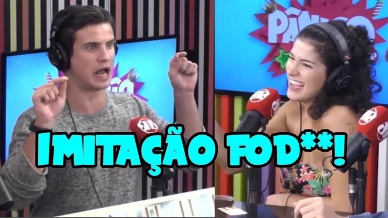 TODO MUNDO CHORANDO DE RIR COM O SHOW DE IMITAÇÕES! - Pânico 2019 - EP. 16