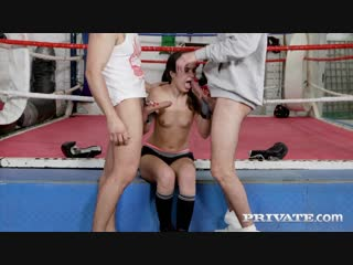 Private anal introductions ringside dp for teen boxer / monica brown