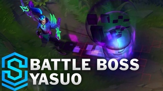 Battle Boss Yasuo Skin Spotlight - Pre-Release - League of Legends