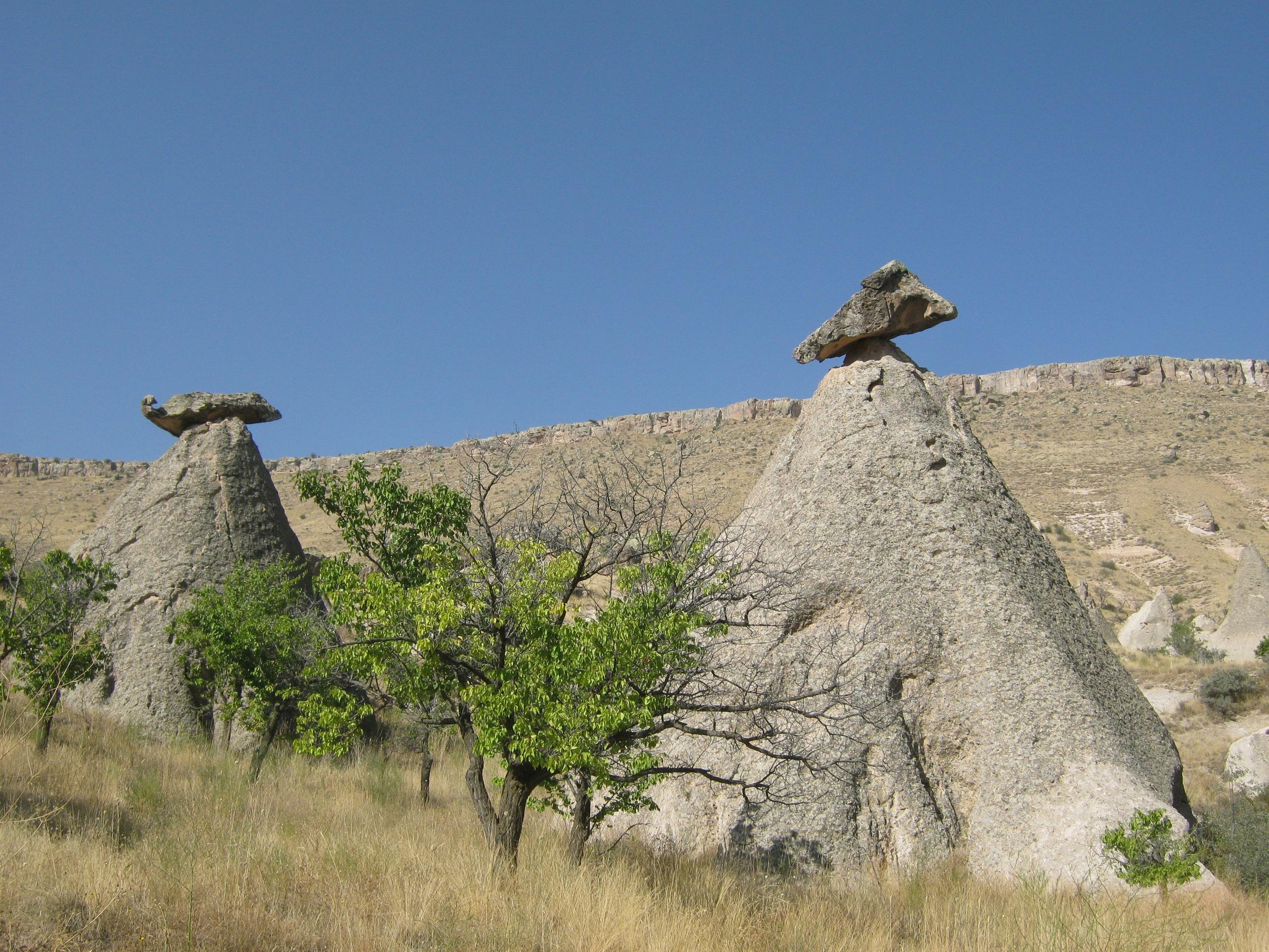 разнообразные и прекрасные пейзажи в Турции).