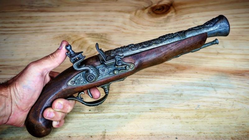 Flintlock Pistol 1760 Restoration (replica)