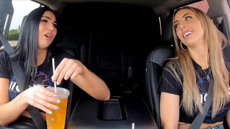 Video@kayroyce   The IIconics try KFC's Cheetos Chicken Sandwich on Ride Along