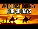 DAJJAL's Journey from BRITAIN to AMERICA and ISRAEL Antichrist 40 days journey