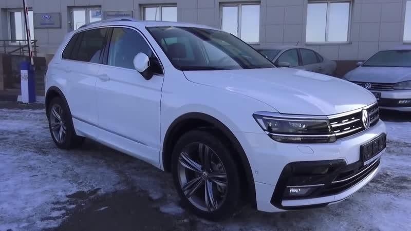 Топовый Тигуан 2018 Sportline 220 л.с. 2.0 TSI DSG 4Motion. Обзор