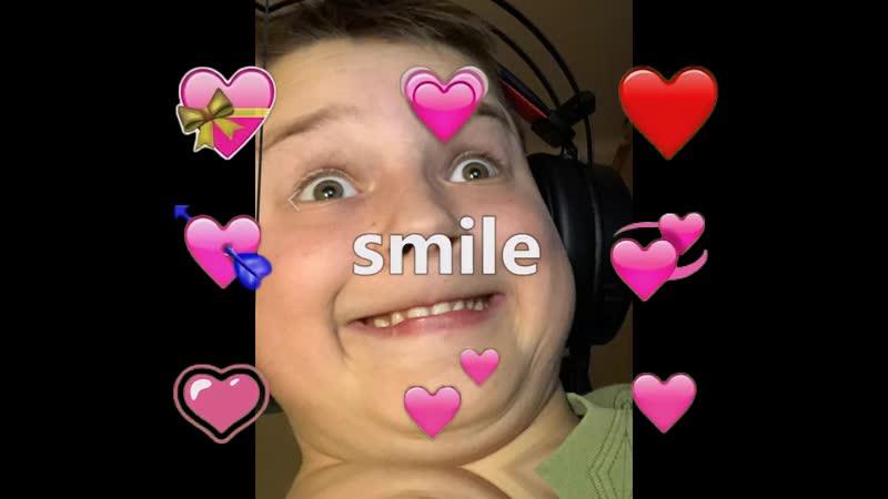 U sou fakin peshos when y smile