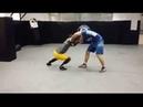 Roger Gracie takedowns trainig for BJJ MMA with Lyubo Kumbarov