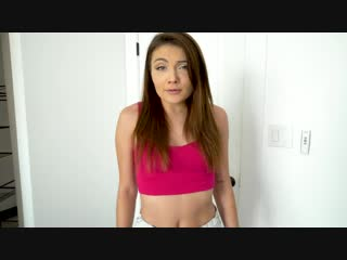Adria Rae - Thieving Brat Gets Her Anal Virginity Burgled [All Sex, Hardcore, Blowjob, Anal, POV]