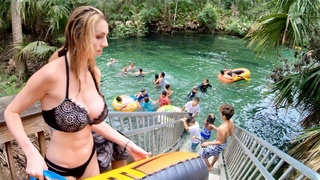 Blue Springs Florida - Free Diving Caves