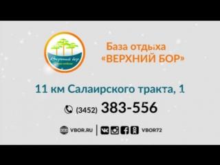 "Новогодний корпоратив на базе отдыха ""Верхний бор"""