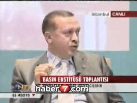 AKP DiN EKSENLi BiR PARTi DEGiLDiR..!_ R.T.ERDOGAN OYLE DiYOR....
