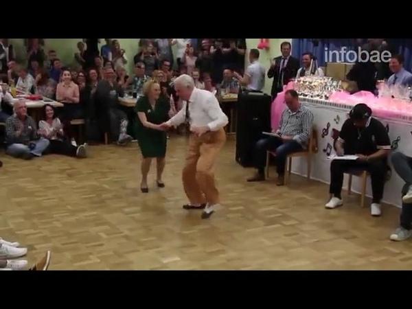 старики из германии танцуют буги вуги