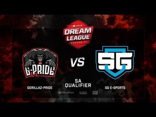 Gorillaz-Pride vs SG E-sports, DreamLeague Season 11, SA QL, bo3, game 2 [Lum1Sit]