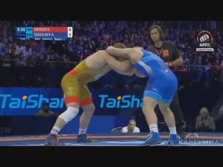 Снайдер vs. Садулаев. Вольная борьба. Чемпионская схватка Рифмы и Панчи