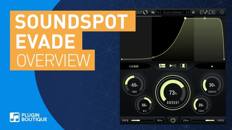 Evade by Soundspot | Envelope Shaper | Tutorial Review of Main Features