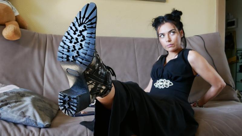 Kristina's pointed-toe Gianmarco Lorenzi military ankle boots Size EU 37 US 7